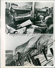 1944 World War II Germany Preparing for 2nd Invasion Original News Service Photo
