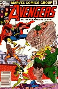 Avengers #222 (1982) Marvel Comics