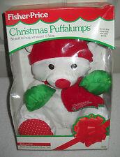 #9403 NRFB Vintage 1992 Fisher Price Christmas Puffalumps Bear