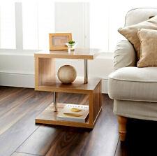 Hampton Oak 2 Tier Side Table Elegant Design Living Room Furniture Coffee Table