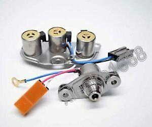 Fit Infiniti Nissan Mazda 3194041X13 RE4R01A Transmission Solenoid Set (1)