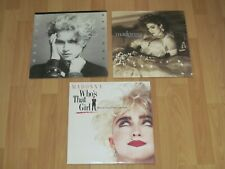 """MADONNA / MADONNA, LIKE A VIRGIN, WHO""""S THAT GIRL / LOT OF 3 VG LP""""S"""
