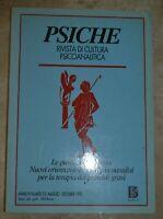 PSICHE RIVISTA DI CULTURA PSICOANALITICA 1995 LE PAROLE CHE CURANO TERAPIA (KM)