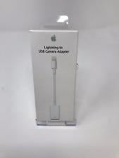 ORIGINALE Apple Lightning a USB Camera Adapter iPhone 5 5 S 6 6 S 7 8 Plus iPad
