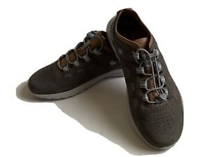 Keen Mens Highland Grey Steel Drizzle Leather Shoe Sneaker Sz 10 NWOB 1023142