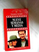 Nueve Semanas y Media Elizabeth Mc Neill Novelas de cine Coleccion Español 1987