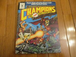Hero System 5th Ed Champions The Super Role-Playing Game HC