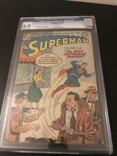 Superman #93 CGC 6.0 1954 With Off White Pages Al Plastino Cover