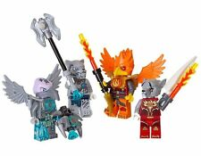 NIP Lego Legends of Chima Accessory Set 4 Minifigs Battle Pack 850913