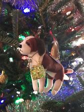 FuzzyNation Novelty Saint Bernard Wristlet / Christmas ornament