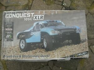 Conquest 10SC XLR 2WD RTR Electric Brushless  EXTRA BATTERY AND HEAD LIGHTS