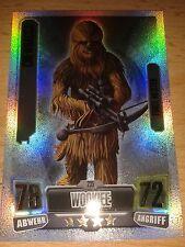 Force Attax Star Wars Serie 2 Nr.235 Chewbacca Force Meister Sammelkarte