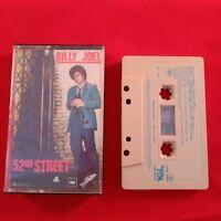 Cassette Tape Billy Joel 52nd Street