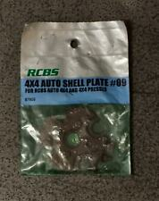 Rcbs 4X4 Auto Shell Plate Assembly #09-(87609)-Nos (Ip)