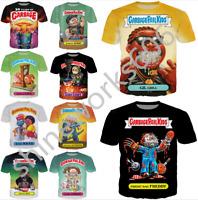 Cartoon Garbage Pail Kids 3D Print Casual T-Shirt Men Women Short Sleeve Tee Top