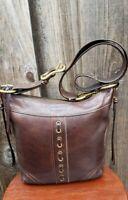 COACH #10399 Brown Leather Legacy Crossbody Shoulder Bag Purse, Vintage