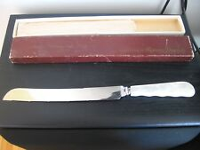 COX CO LTD MOTHER OF PEARL BRIDES WEDDING CAKE KNIFE