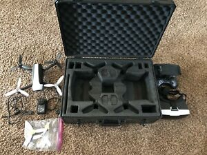 Parrot Bebop 2 FPV Camera Drone With Case, Sky Controller, And Cockpit Glasses
