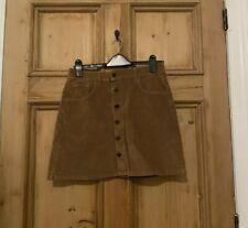 Ladies Corduroy Skirt Size 12 M&S