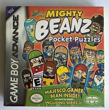 GBA Mighty Beanz Pocket Puzzles (2004), Brand New & Factory Sealed