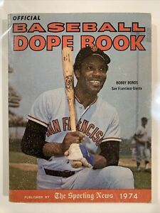 The Sporting News 1974 Official Baseball Dope Book
