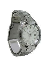 Fossil PR5338 Men's Round Analog Date Stainless Steel Watch