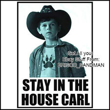 "Fridge Fun Refrigerator Magnet THE WALKING DEAD: ""STAY IN THE HOUSE CARL"" funny"