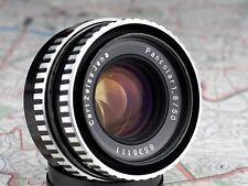 PANCOLAR 1.8/50 M42 THORIUM mount lens CARL ZEISS JENA zebra /24