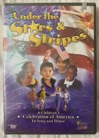 Under the Stars and Stripes (DVD, 2003) Patriotic Out of Print Brand New Sealed