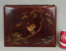 ancien sous-main porte-documents en laque du japon antique japanese lacquer desk
