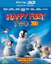 Happy Feet 2 3D BLU-RAY- REGION FREE* NEW & SEALED