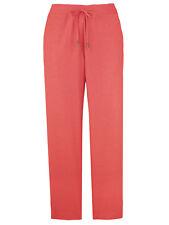 Nouveau-Burnt Orange Lin Mélange Pantalon-Cravate Taille-été Casual Pantalons - 16-27 L