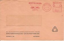 Malaria Netherlands Meter Stamp Cover 1963  QUININE fact. CHININ KININE Suprimal