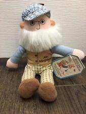 Eden Peter Rabbit Small Mr. McGregor Soft Plush Stuffed Doll