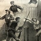 1861 CIVIL WAR newspaper COL ELLSWORTH MURDERED NY ZOUAVES Death Stephen Douglas