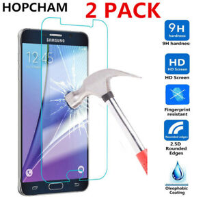 100% REAL TEMPERED GLASS SCREEN PROTECTOR SAMSUNG GALAXY J3 J5 J7 A3 A5 A7 A8 A9