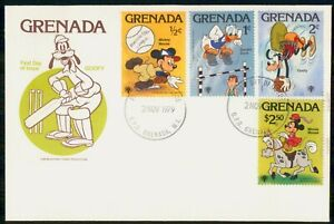 Mayfairstamps GRENADA FDC 1979 COVER DISNEY GOOFY & FRIENDS COMBO wwi81503