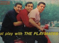 AT PLAY WITH THE PLAYMATES on mono ROULETTE  LP