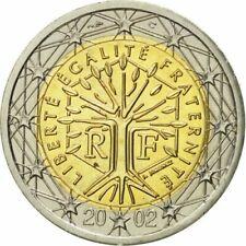 Pièces euro de la France pour 2 Euro année 2002