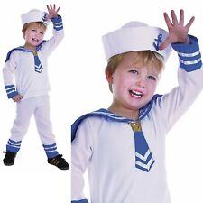 Matrose Jungen Kleinkind Kostüm Uniform Militär Marineblau Kinder Alter 2-3