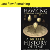 STEPHEN HAWKING A Briefer History of Time, hawkings Steven 2020 ■NEW BOOK■