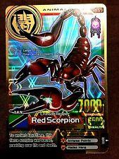 Animal Kaiser Original English Version Ver 3 Card (A037: Red Scorpion)