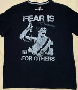 Bruce Lee Mens T-Shirt VINTAGE - OFFICIALLY LICENSED Black - SIZE XL