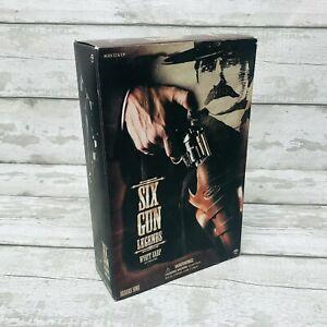 Sideshow Toys Six Gun Legends Series 1 Wyatt Earp 1/6 Figure Complete Boxed
