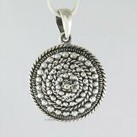925 Sterling Silber Medaillon - Anhänger für Sie und Ihn Amulett Echtschmuck neu