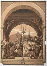 (after) Veronese - Presentation to the Temple by John Baptist Jackson, 1745