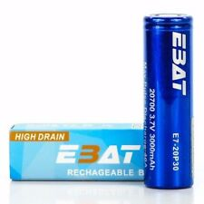 EBAT IMR 20700 3000MAH 40A 3.7V | Authentic Real High Drain Flat Top Battery