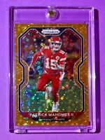 Patrick Mahomes RARE ORANGE DISCO PRIZM HOT NEW CHIEFS REFRACTOR CARD - Mint!