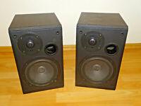 MB Quart One 2-Wege Stereo Lautsprecher / Boxen, beide Hochtöner defekt