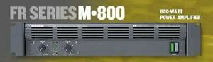 Mackie - FR Fast Recovery Series M-800 Professional Power Amplifier
